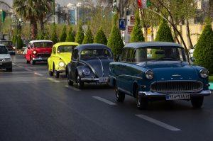 اولین رالی خودرو های کلاسیک در اصفهان (نوروز ۹۷)