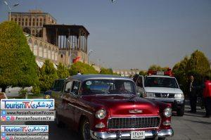 اولین رالی خودروهای کلاسیک در اصفهان (نوروز۹۷)